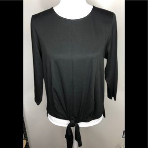 J.jill Long Sleeve With Tie in front Blouse